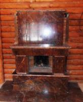 Камин из мрамора Бидасар Голд